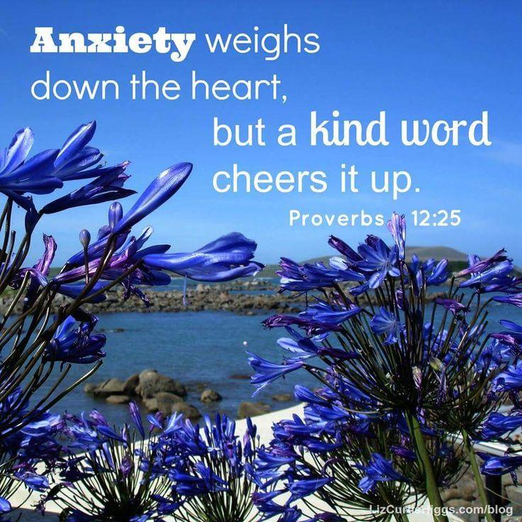 Proverbs 12:25                                                                                                                                                      More