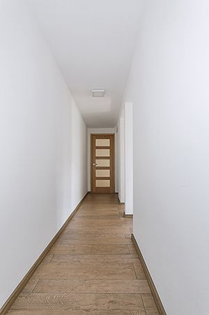 Hallway. Proyect Espartaco by Gerardo Reyes - Remodeling apartment.