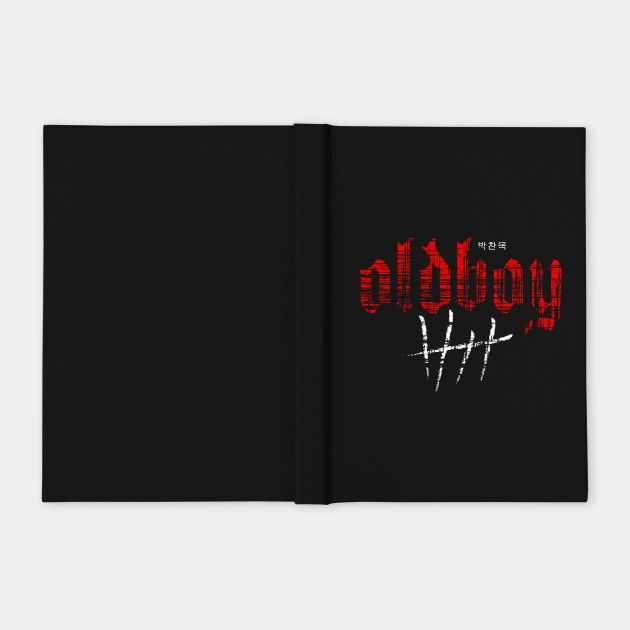 Oldboy II  Notebook #sales #notebook #discount #save #septembersales #moviejournal #39 #style #fashion #oldboy #oldboymovie #oldboynotebook #cinema #movie #family #gifts #shopping #onlineshopping #teepublic