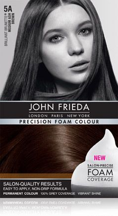 5A Brilliant Brunette® Medium Ash Brown Colour - John Frieda®