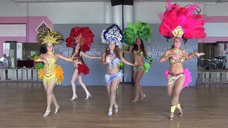 Brazilian Samba Dancing Performance in San Diego