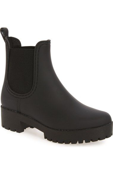 Jeffrey Campbell Cloudy Chelsea Rain Boot (Women) available at #Nordstrom