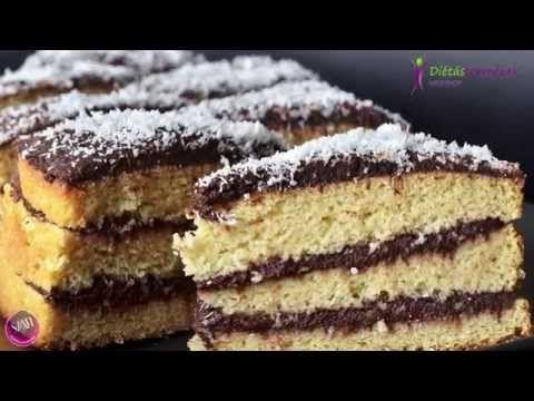 Tökéletes paleo piskóta recept (Fordított Szafi Fitt Paleo Bounty torta) - YouTube