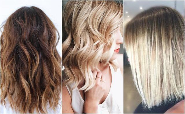 Włosy do ramion - Galeria inspiracji