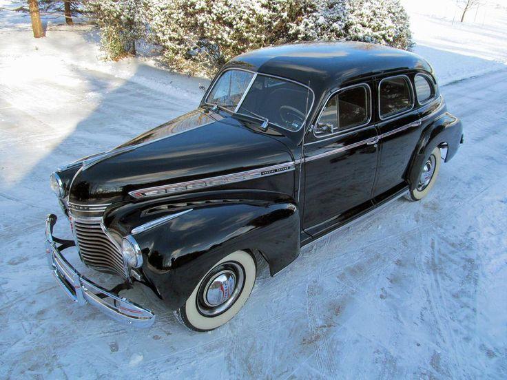 1941 Chevrolet Special Deluxe 4 Door Sport Sedan