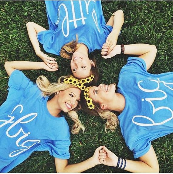 big little shirt comfort colors top sorority big by Baileywicks
