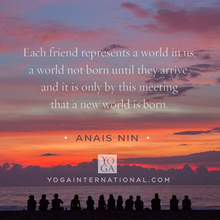 Today is the International Day of #Friendship! To celebrate, we'd like to give you, our friend in yoga, a free 30 days of membership. Practicing yoga is the perfect way to strengthen bonds with the people we love. With a membership to Yoga International, you can view classes anytime, anywhere, and connect with friends all over the globe. Share this inspirational image (and 30 days of free membership!) as a little reminder of how much they've changed your world.