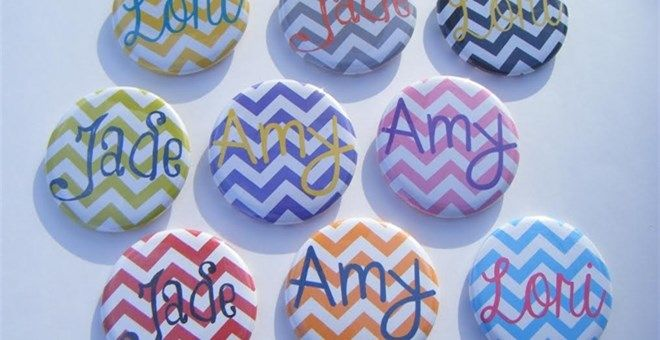 Personalized Chevron Mirrors on Jane.com for $2.99 for the next 3 days!