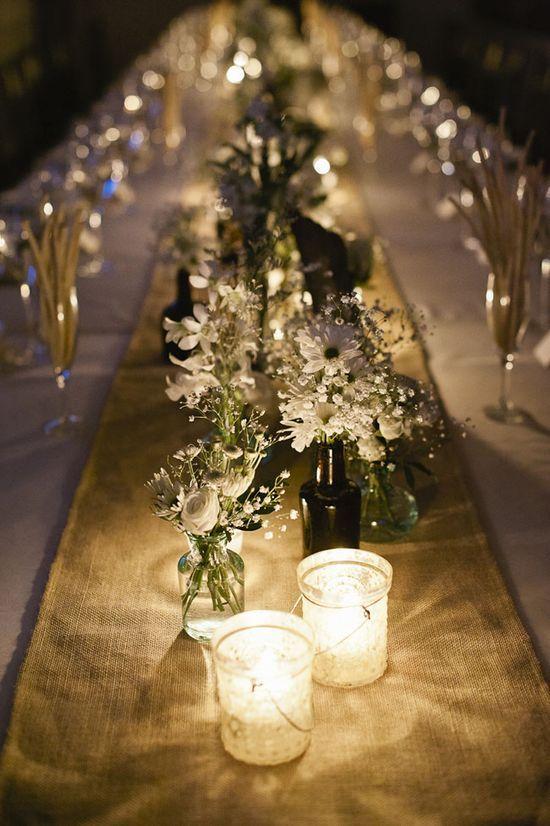 36 best images about bodas sencillas on pinterest tea for Adornos d mesa para boda