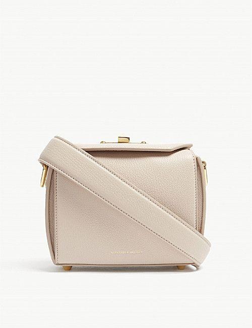 a30ee821690 ALEXANDER MCQUEEN Box Bag 19 leather cross-body bag | Bags | Bags ...
