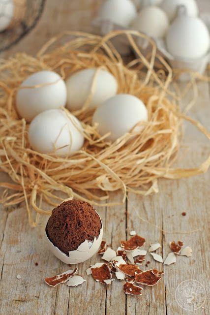 Cocinando entre Olivos: Cómo hacer huevos rellenos de brownie, receta paso a paso