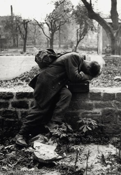 8. A German soldier returns home only to find his family no longer there - Frankfurt (1946)