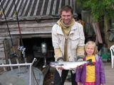 Пара дней на Онежском озере, семейный отдых и рыбалка, июль 2006.