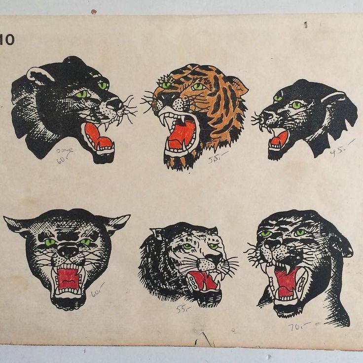 115 best vintage tattoo flash images on pinterest for Spaulding rogers tattoo