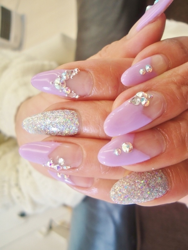 25 beautiful stylish nails ideas on pinterest prom nails white stylish nail art ideas for summer prinsesfo Image collections