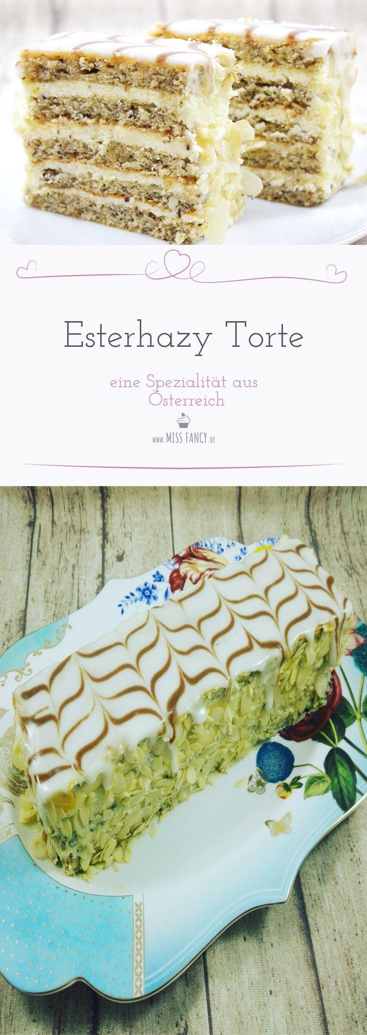 Diese Esterhazy Torte ist ein absoluter Traum
