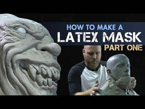 Creature Effects Tutorial - How to Make a Latex Mask Part 1 - Sculpt Halloween Masks with FX artist Tim Martin