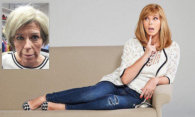 Breakfast TV star KATE GARRAWAY tries bizarre life hack