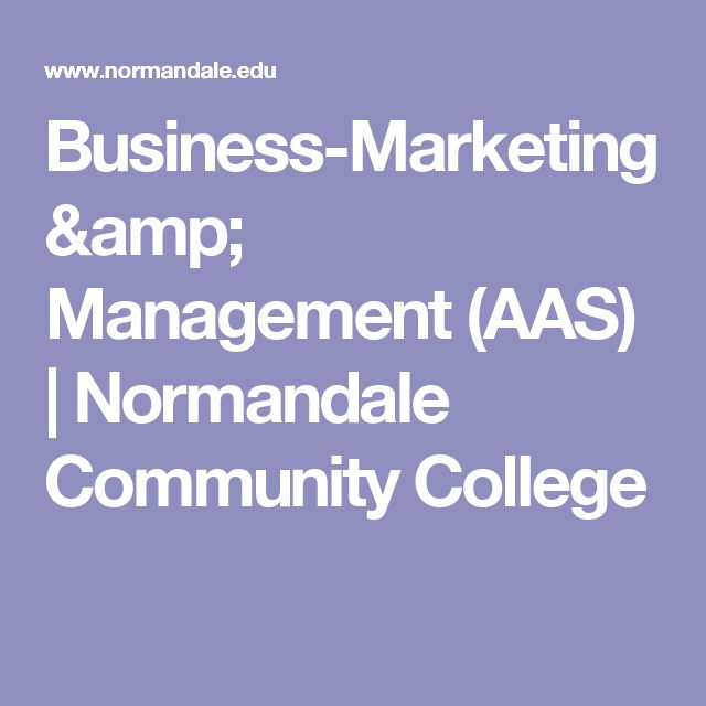 Business-Marketing & Management (AAS) | Normandale Community College