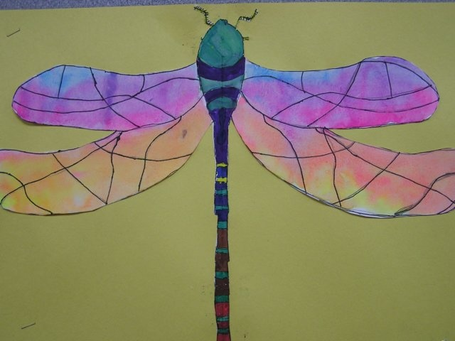 colorful pictures of dragon flies   watercolordragonflies4.jpg