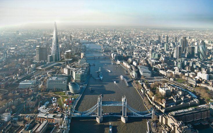 The Shard London Bridge – CGI