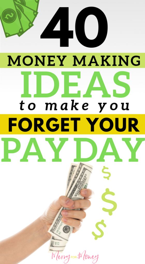 40+ Money Making Side Hustles to Make You Forget Pay Day – Earn Extra Cash | Make Money Ideas | Ways to Make Money