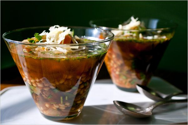 Farro and Vegetable Soup | In a~ FARRO~ off land | Pinterest