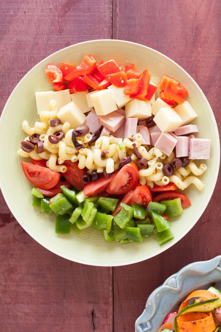 #Epicure Italian Deli #Salad with Italian Dressing & Smokey #Bacon Topper