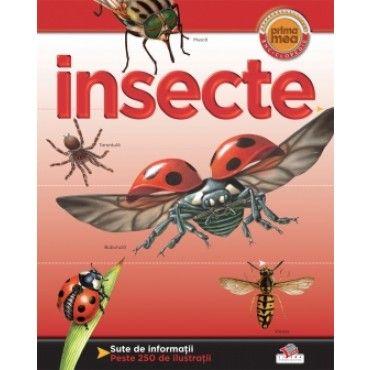 Insecte- Helen Flint; Varsta: +3 ani; Avand sute de ilustratii mari, expresive si detaliate, dar si informatii de calitate si captivante, enciclopedia te va atrage cu fiecare pagina tot mai mult in lumea lecturii, indemnandu-te sa descoperi miciile vietuitoare.