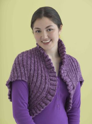 knit shrug pattern
