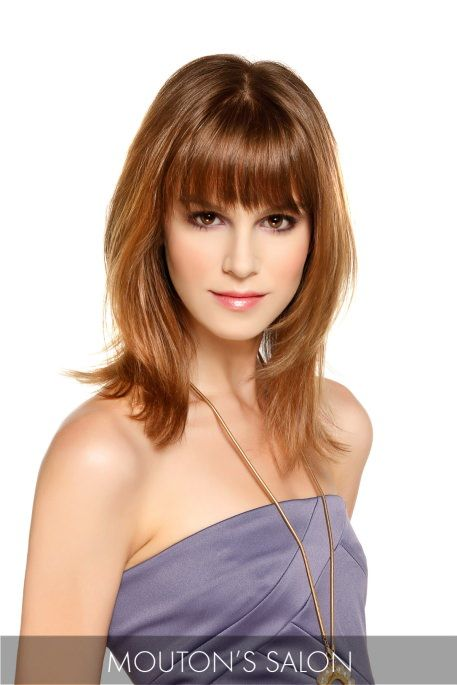 how to style layered hair 17 best images about beautiful bangs on 1219