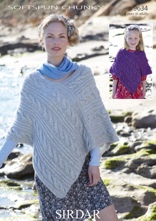 Best 25+ Poncho knitting patterns ideas on Pinterest Crochet baby clothes, ...