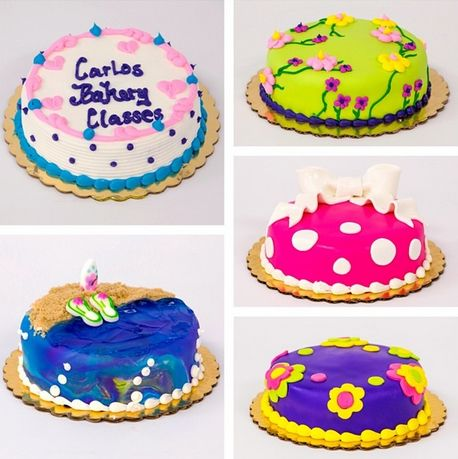 We have a ton of great new classes! Check out our schedule here: http://classes.carlosbakery.com/