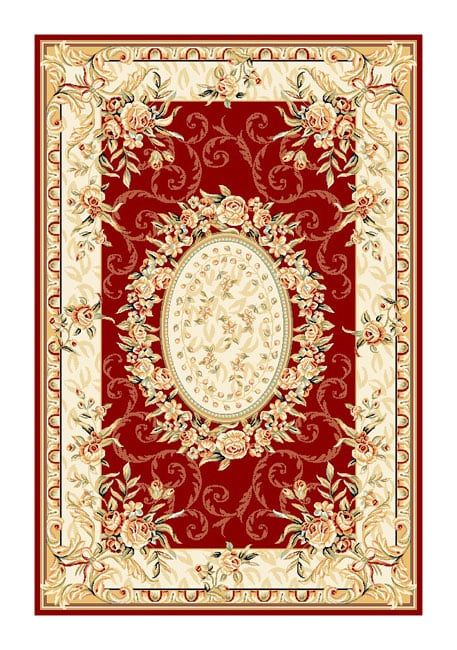 Safavieh Lyndhurst Traditional Oriental Red/ Ivory Rug (3'3 x 5'3) | Overstock.com Shopping - The Best Deals on 3x5 - 4x6 Rugs