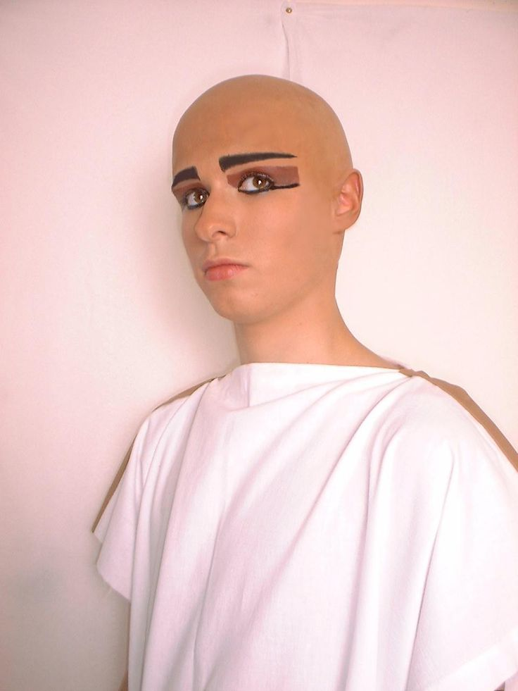 Image result for male pharaoh makeup