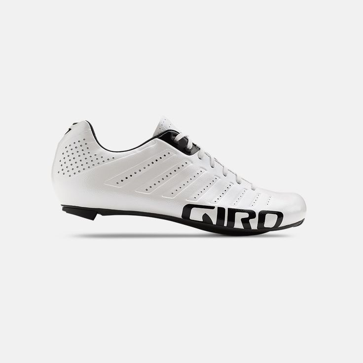 Empire SLX Lace-Up Road Bike Shoes by Giro - white is just right