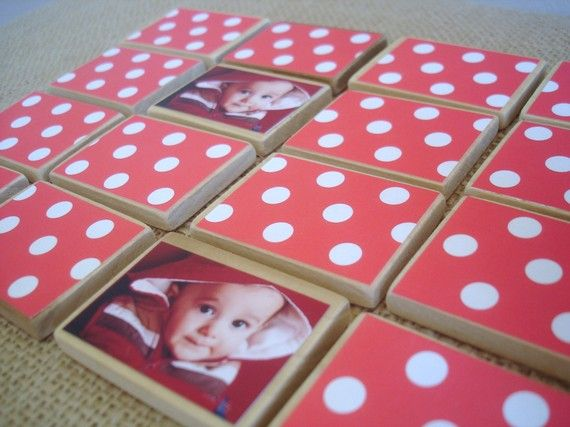 Adorable personalized matching game! Stocking stuffer for Christmas 2012!