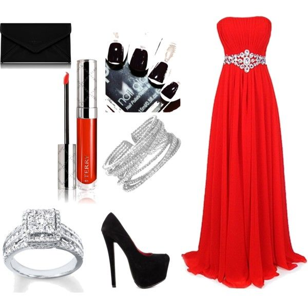 """red on the red carpet"" by simmysim0802 on Polyvore"