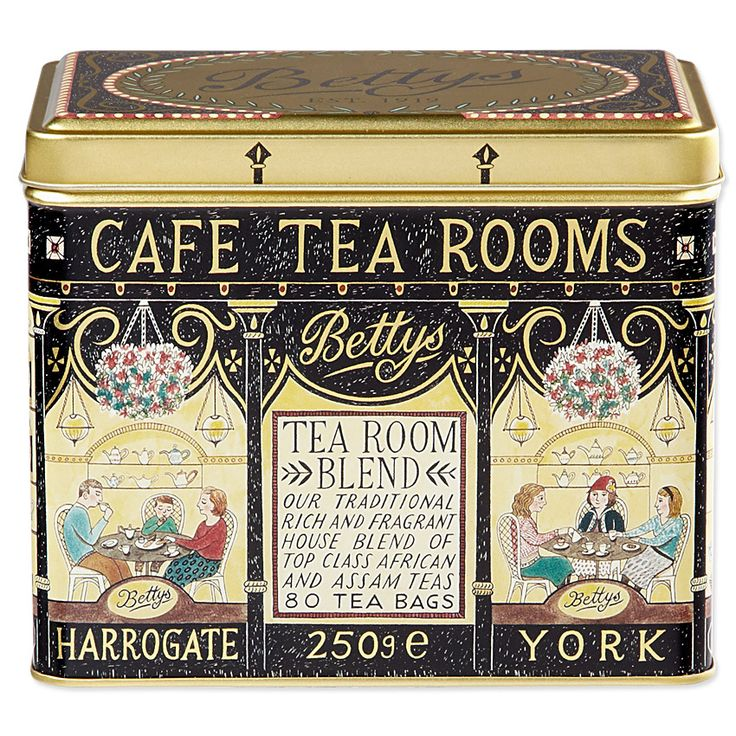 Clever Miss Emily Sutton, I will definitely be popping in to buy one of these on my next trip up to the motherland! Bettys Tea Room Blend Caddy | Bettys Online