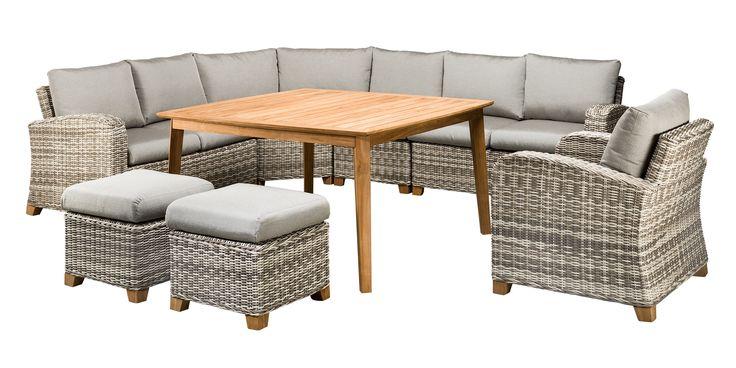 SUNS Portofino - Lounge set - SUNS Green Collection - 4 parts - Big Corner