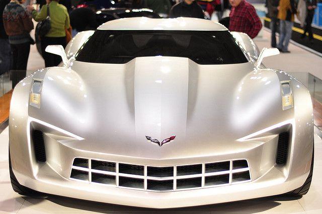 Corvette Stingray Concept used for Transformers.  AKA: Sideswipe  #provestra