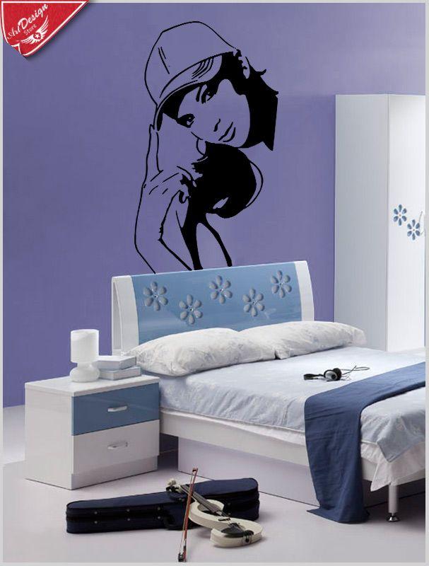 Decore seu quarto e deixe super descolado com esse adesivo decorativo feminino. Decore Ideias - Adesivos Decorativos, Presentes Criativos, Papeis de parede e muito mais.