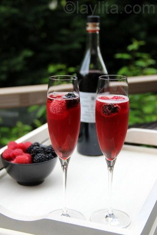 Kir Royale...My favourite but won't be able to drink for a long time yet....#Expressing