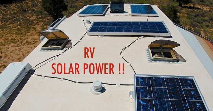 Confused by RV solar power? This easy overview explains the terminology, components, design and solar parts selection for DIY RVers.