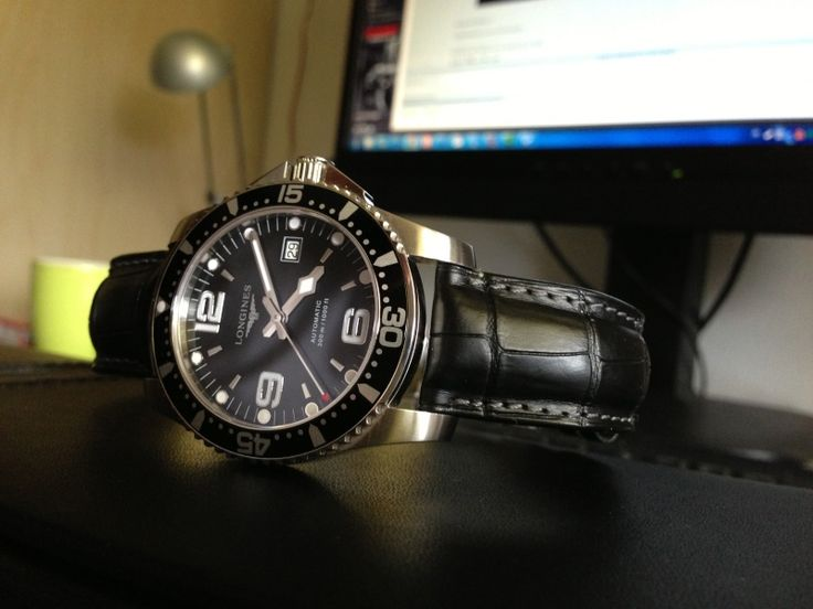 Strap brand recommendations for longines hydroconquest for Longines leather strap