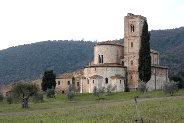 Abbey of Sant'Antimo (Siena, Italy)