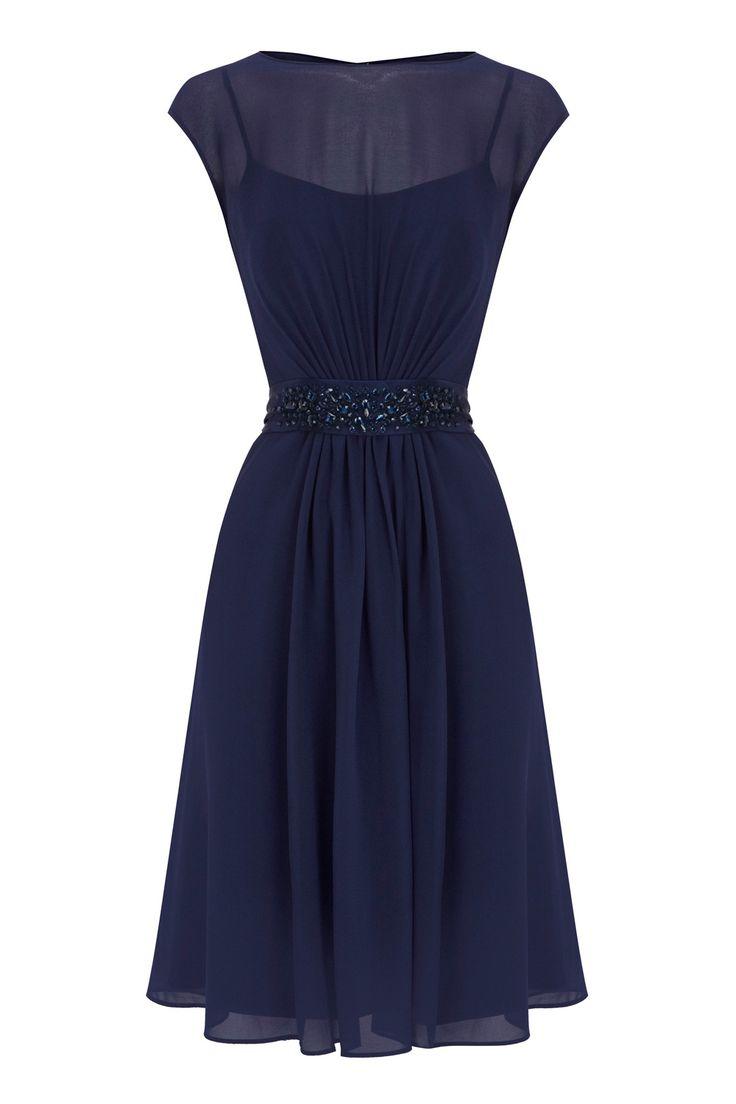 All Dresses | Blues LORI LEE SHORT DRESS | Coast Stores Limited
