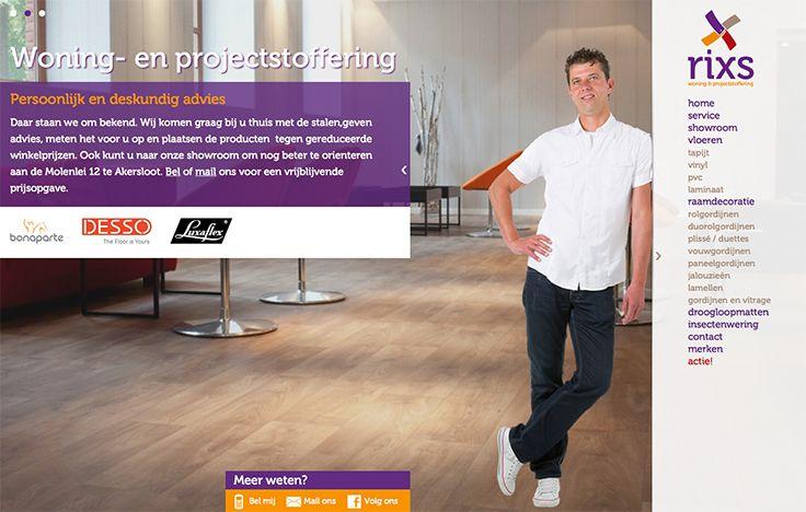 Website design voor Rixs