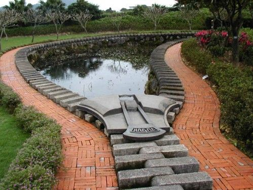 really cool poolTaipei Taiwan, Swimming Pools, Paths, Museums, Art, Gardens, Zippers Ponds, Design, Yards