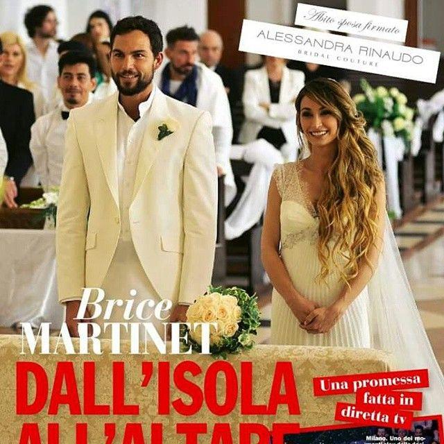 Brice Martinet (lo ricorderete sull'isola dei Famosi) è convolato a nozze con Elena Falbo.Lo sposo indossava un completo bianco.Lo stesso colore dell'abito della sposa.....cosa ne pensate?Siete d'accordo con questo tipo di scelta? #matrimoniopartystyle
